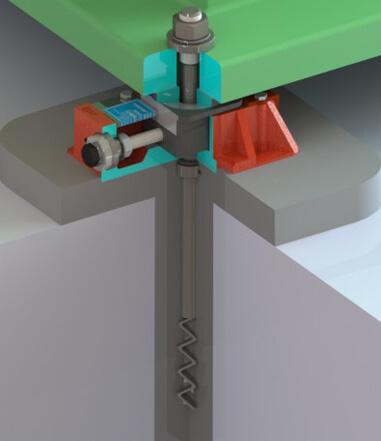 Injection Molding | Industrial Machine Installation | UNISORB®