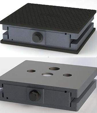 Injection Molding   Industrial Machine Installation   UNISORB®